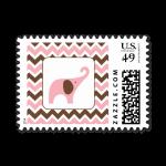 25 pink brown ele