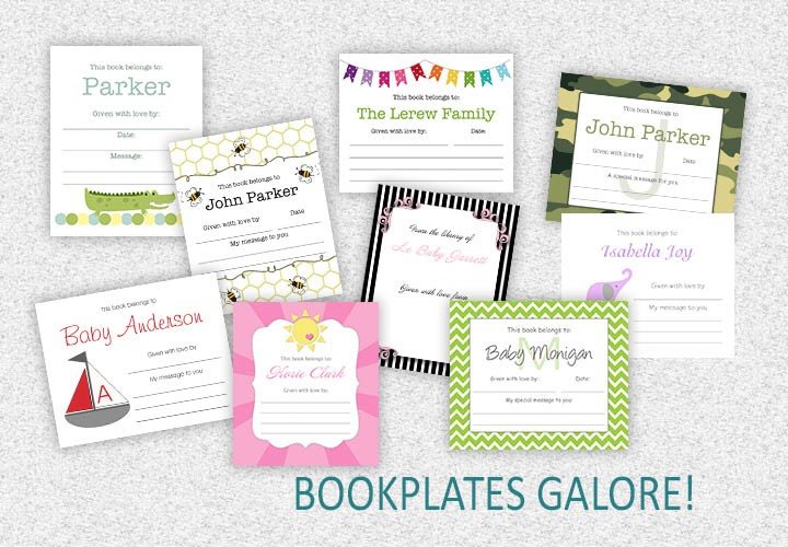 BOOKPLATES POSTER USE