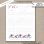 6 11 gift red blue poster