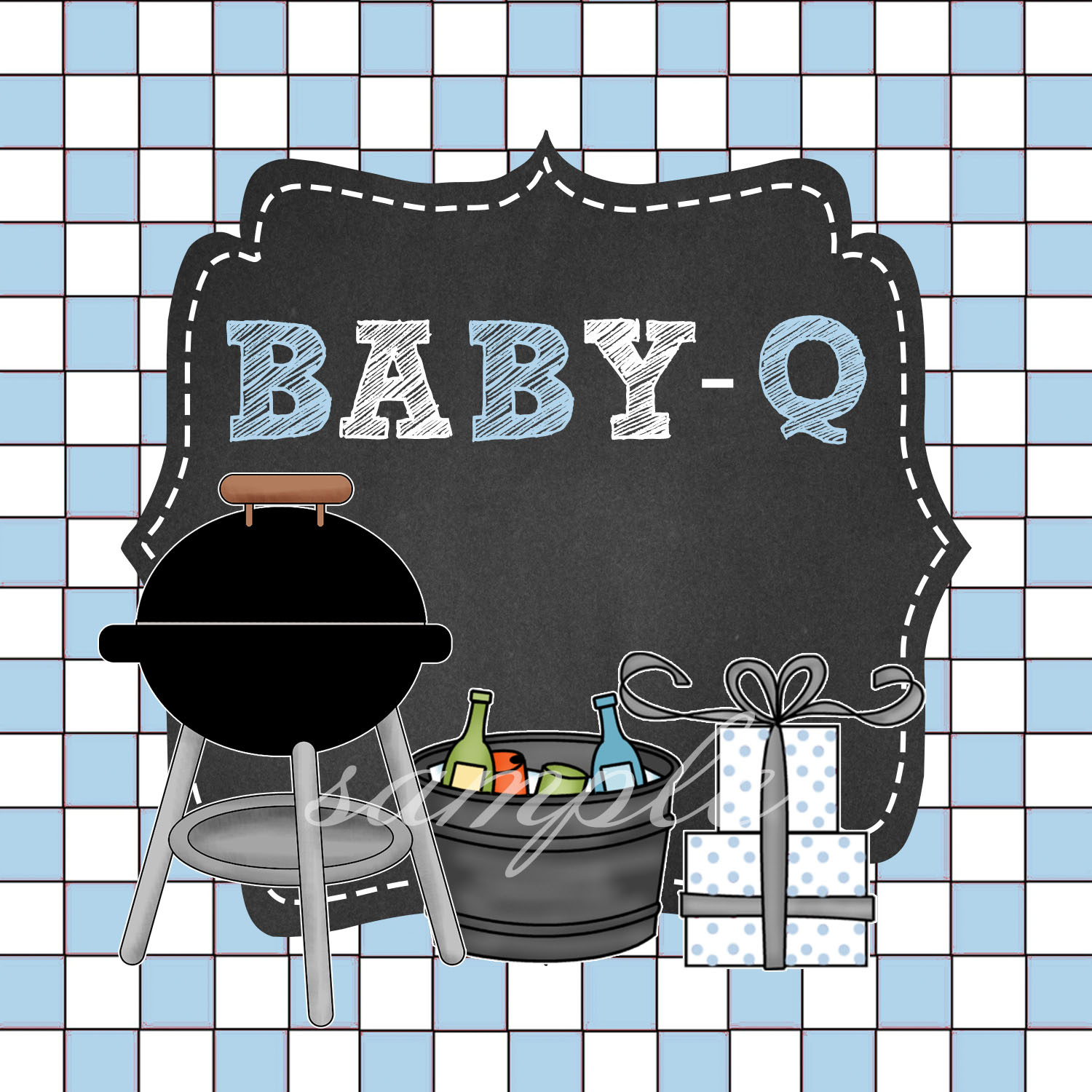 baby q baby shower blue rustic categories baby q blue baby q rustic