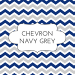 w1 chev navy grey