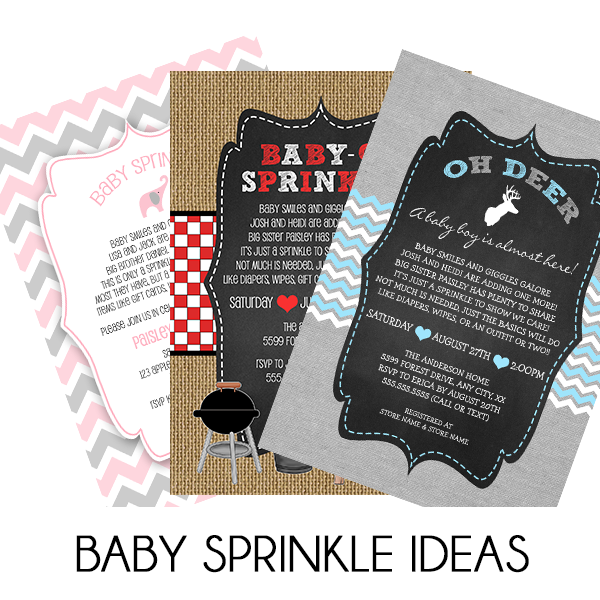 Baby Sprinkle Invitation Wording Ideas Lemon Tree Cards